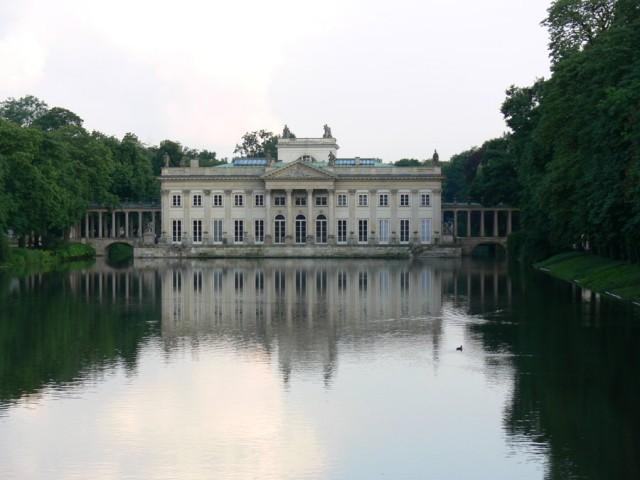 łazienki Królewskie W Warszawie Galeria Zdjęć